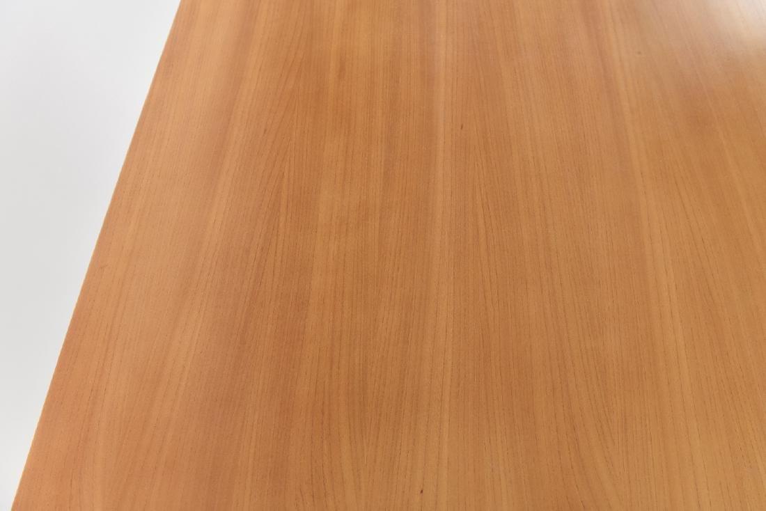 MILO BAUGHMAN FOR DREXEL BLOND WOOD DESK - 7