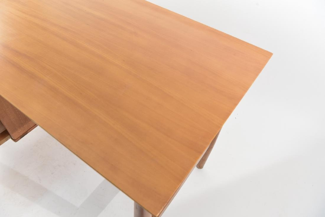 MILO BAUGHMAN FOR DREXEL BLOND WOOD DESK - 8