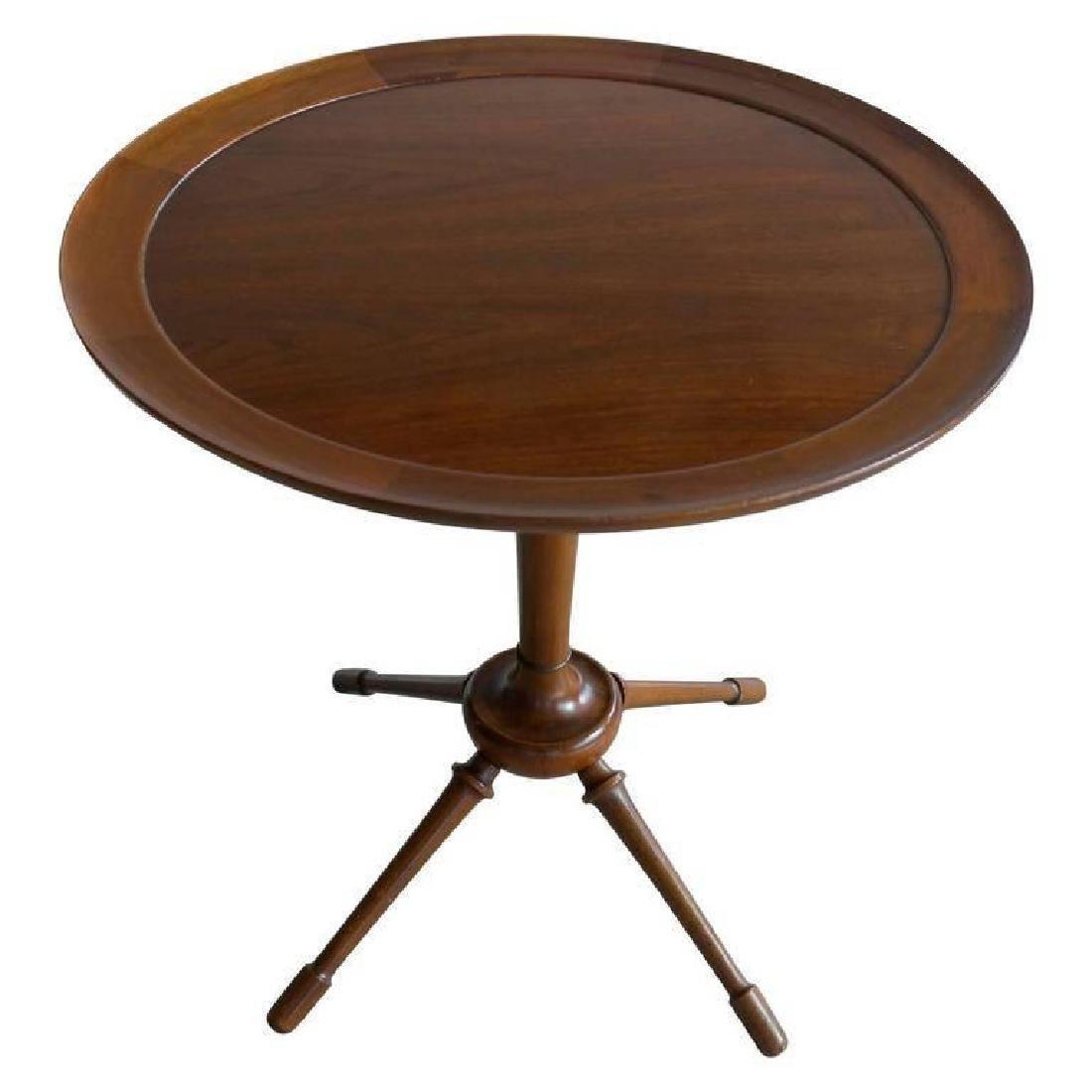 FRITS HENNINGSEN CUBAN MAHOGANY SIDE TABLE