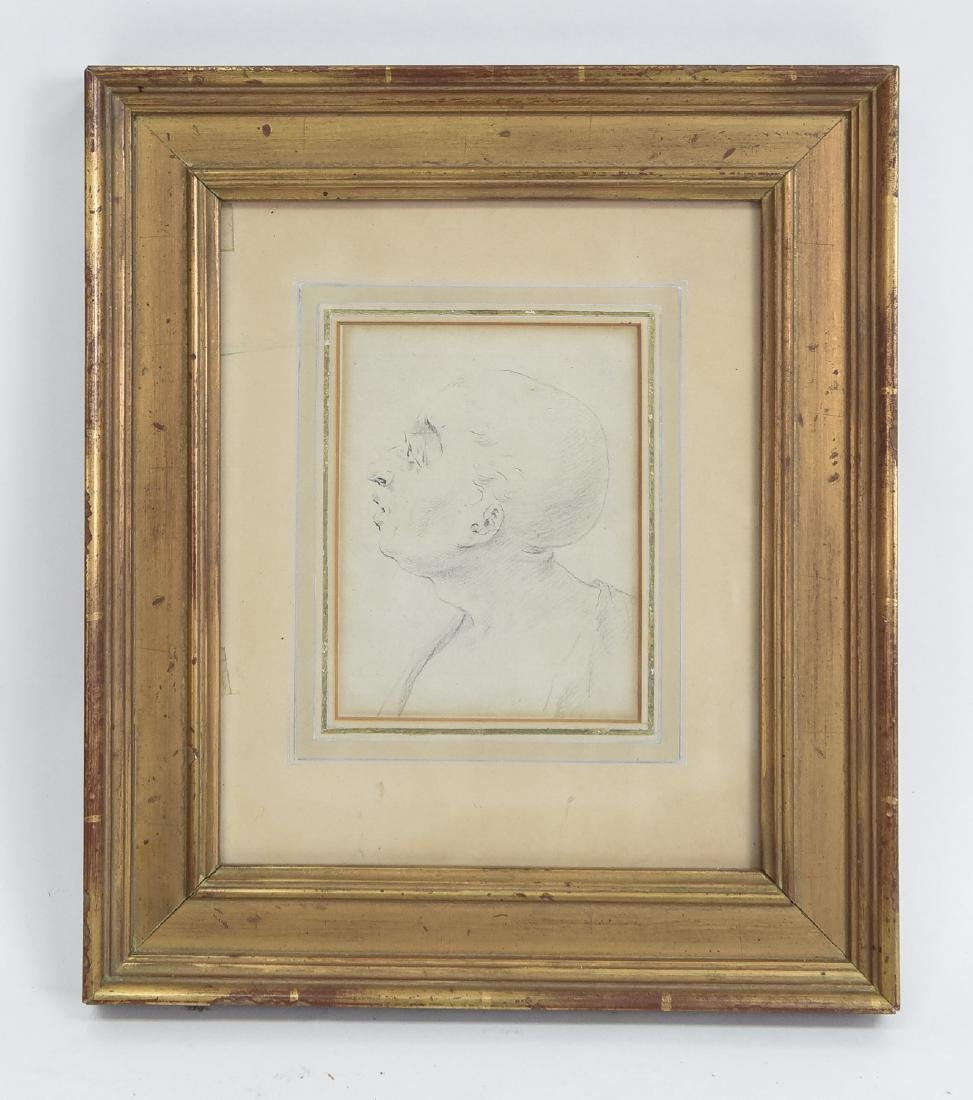 LATE 18TH CENTURY PORTRAIT DRAWING