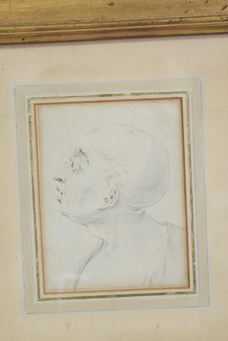 LATE 18TH CENTURY PORTRAIT DRAWING - 2