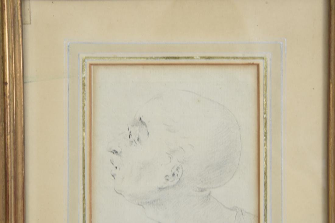 LATE 18TH CENTURY PORTRAIT DRAWING - 3