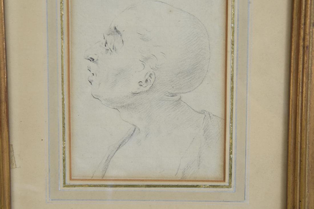 LATE 18TH CENTURY PORTRAIT DRAWING - 4