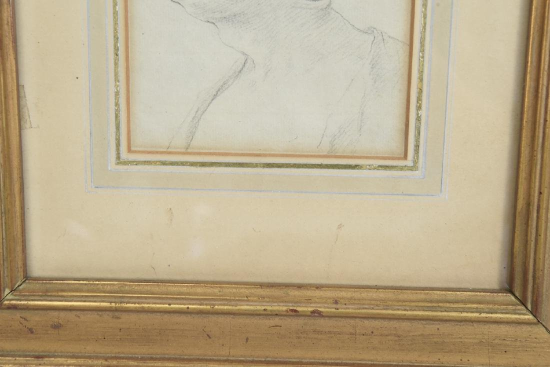 LATE 18TH CENTURY PORTRAIT DRAWING - 5