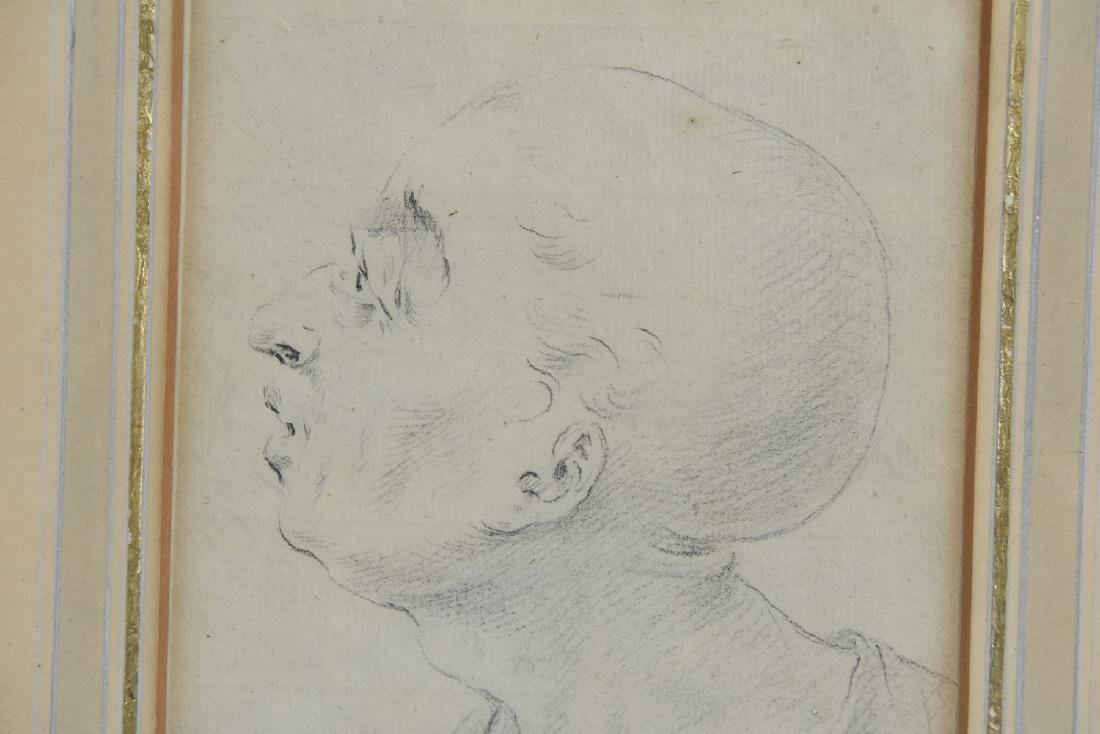 LATE 18TH CENTURY PORTRAIT DRAWING - 6