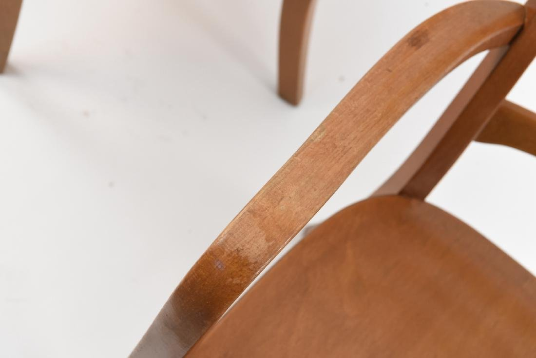 PAIR OF FRITZ HANSEN MID-CENTURY CHAIRS - 4