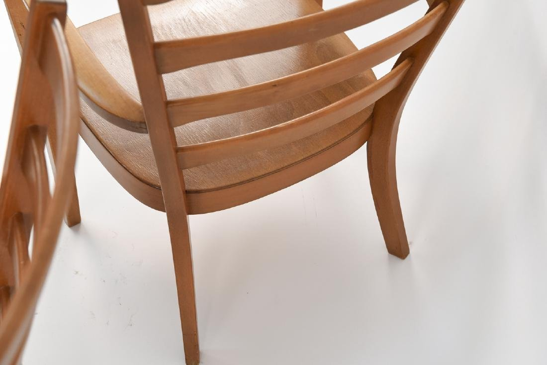 PAIR OF FRITZ HANSEN MID-CENTURY CHAIRS - 7