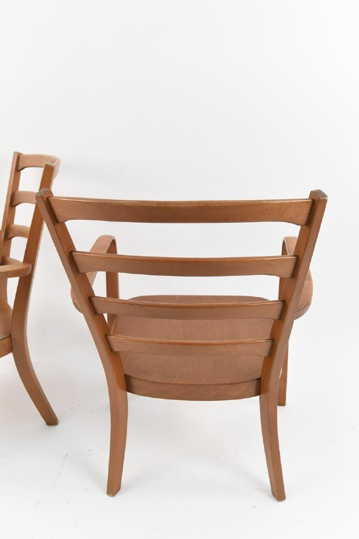 PAIR OF FRITZ HANSEN MID-CENTURY CHAIRS - 8