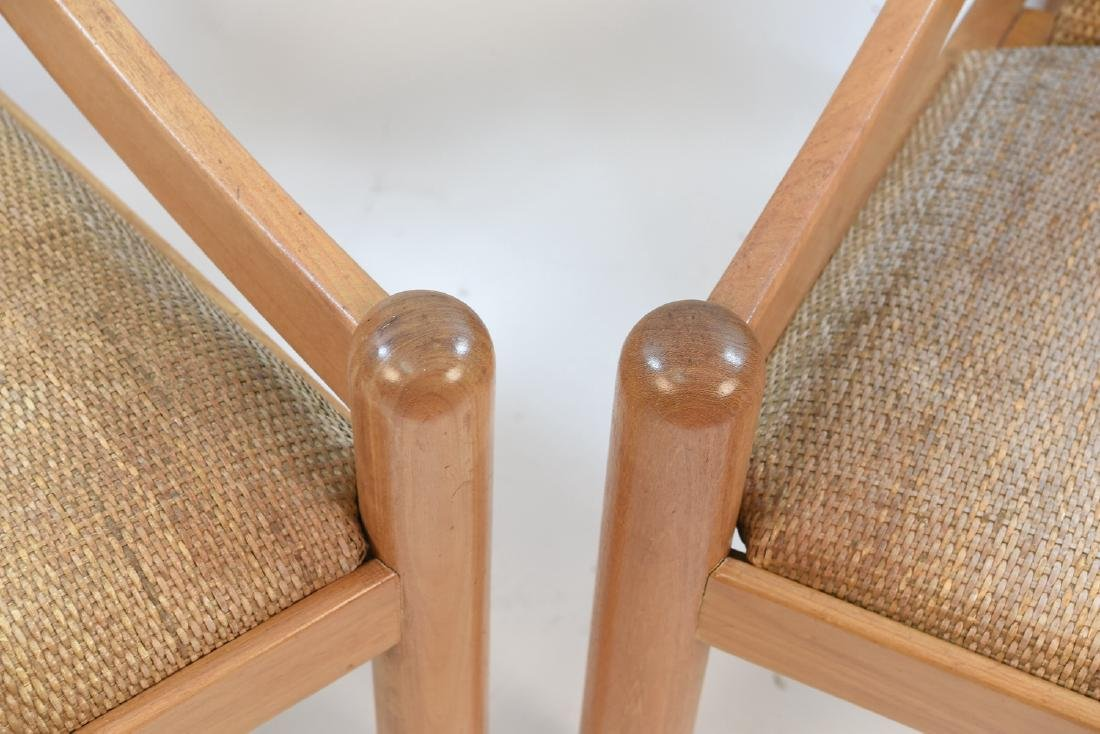 VICO MAGISTRETTI CARIMATE FOR CASSINA CHAIRS - 4