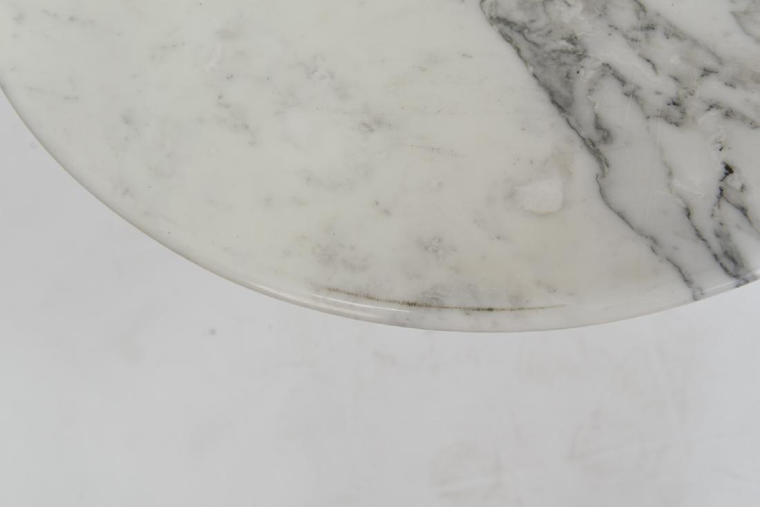 SAARINEN MARBLE TOP TULIP SIDE TABLE - 5
