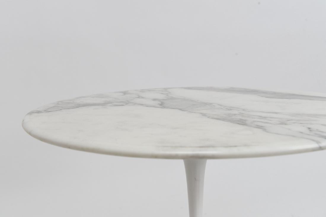 SAARINEN MARBLE TOP TULIP SIDE TABLE - 8