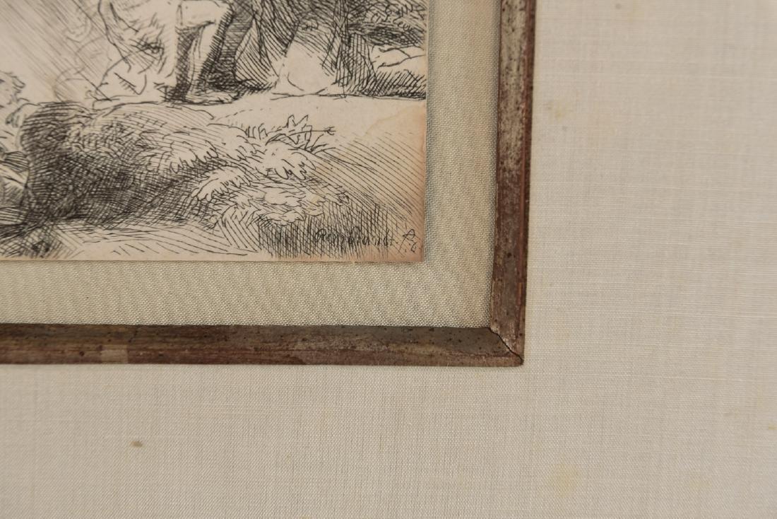 REMBRANDT H. VAN RIJN (DUTCH 1606-1669) - 8