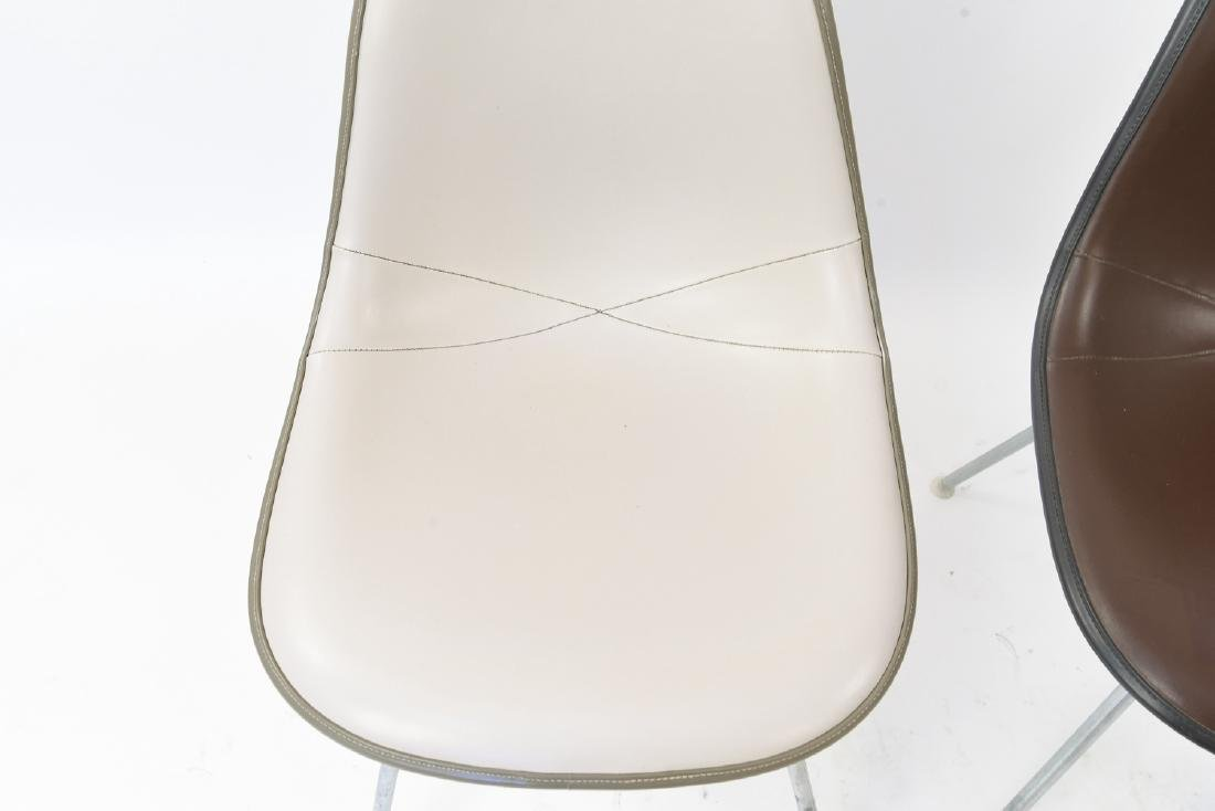 (2) EAMES HERMAN MILLER SHELL SIDE CHAIRS - 2
