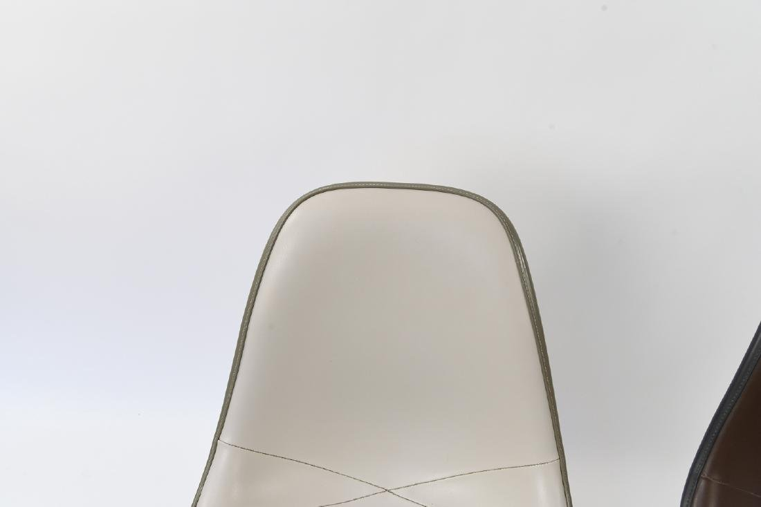 (2) EAMES HERMAN MILLER SHELL SIDE CHAIRS - 3