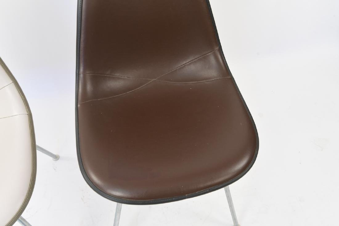 (2) EAMES HERMAN MILLER SHELL SIDE CHAIRS - 4