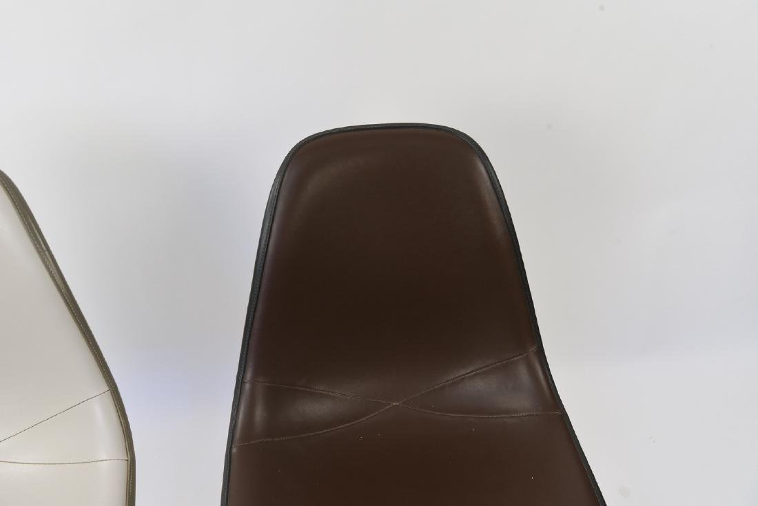 (2) EAMES HERMAN MILLER SHELL SIDE CHAIRS - 5