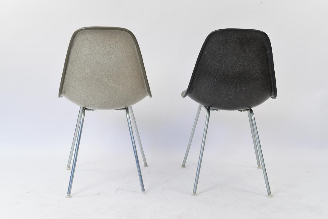 (2) EAMES HERMAN MILLER SHELL SIDE CHAIRS - 7