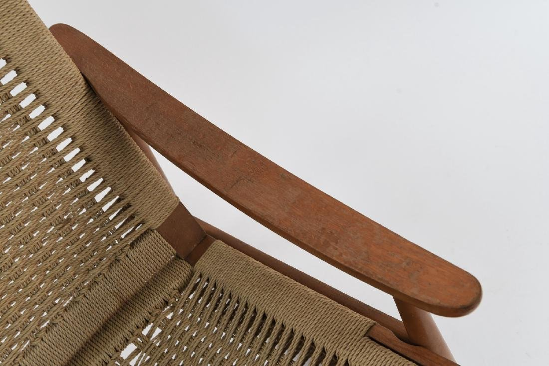 STYLE OF HANS WEGNER YUGOSLAVIAN ROCKING CHAIR - 4