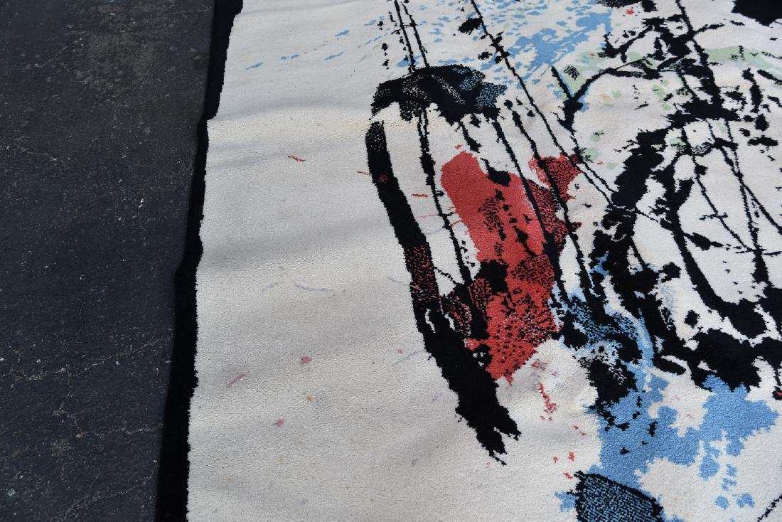 ROBERT JACOBSEN ART LINE BY EGE RYA WOOL RUG - 4