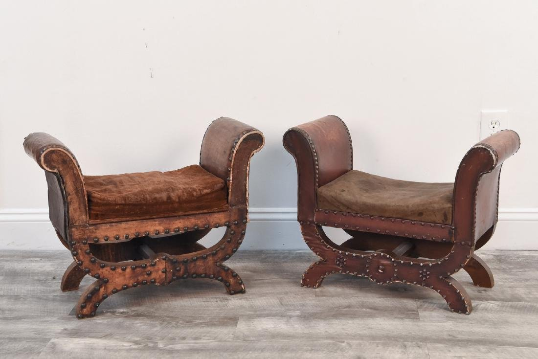 PAIR OF 1930'S STOOLS BY OTTO SCHULZ FOR BOET