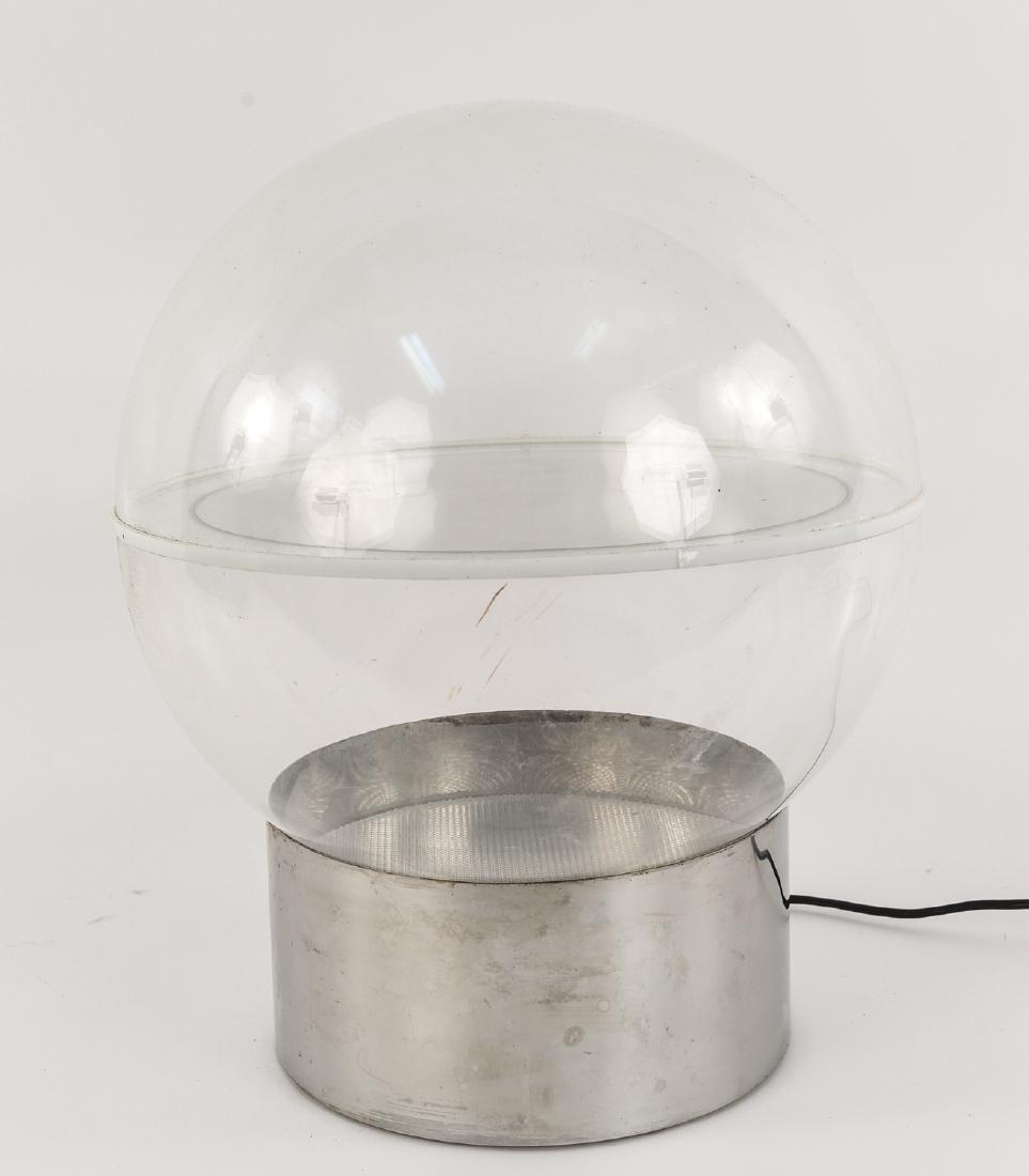 ACRYLIC GLOBE TABLE LAMP