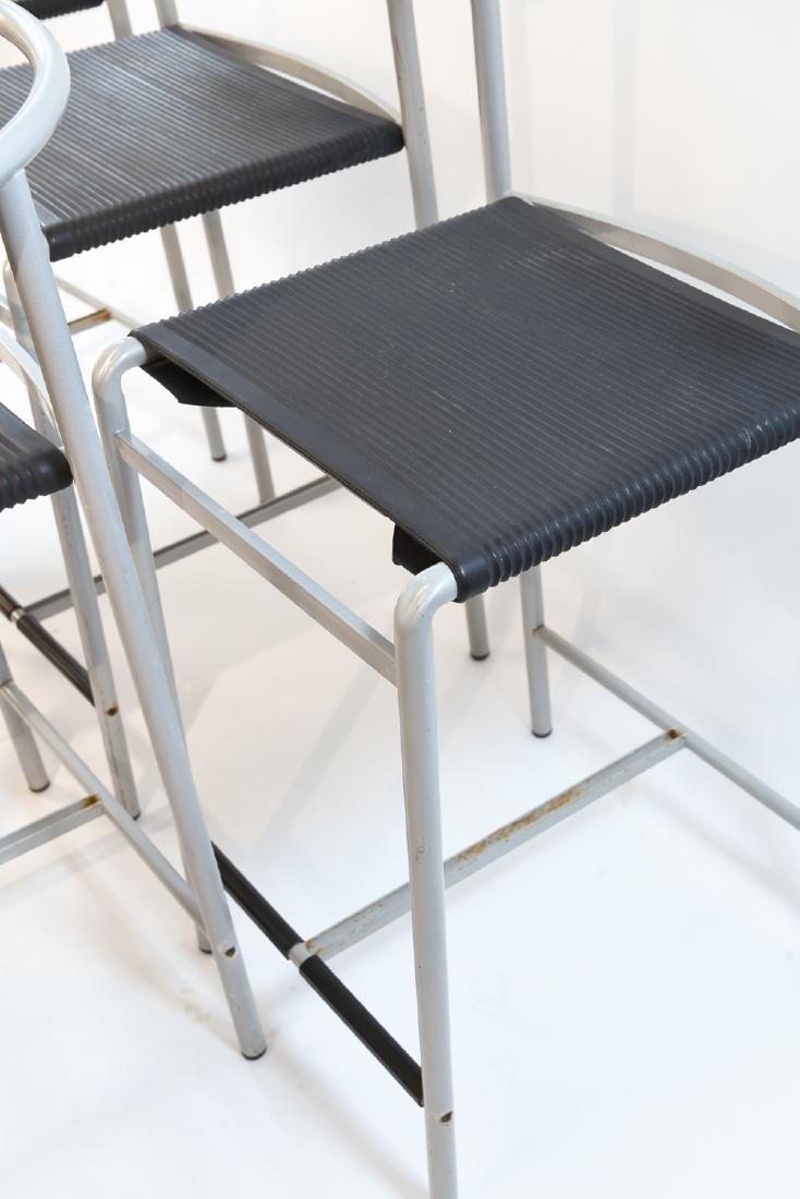 (5) PHILIPPE STARCK FOR CERRUTI BALERI BAR STOOLS - 5
