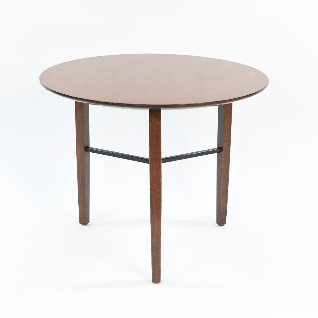 LEWIS BUTLER FOR KNOLL 3 LEG SIDE TABLE