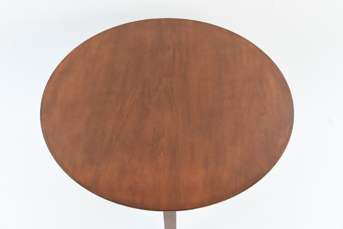 LEWIS BUTLER FOR KNOLL 3 LEG SIDE TABLE - 2