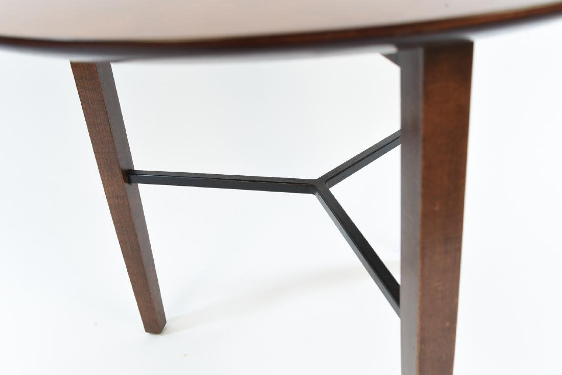 LEWIS BUTLER FOR KNOLL 3 LEG SIDE TABLE - 3