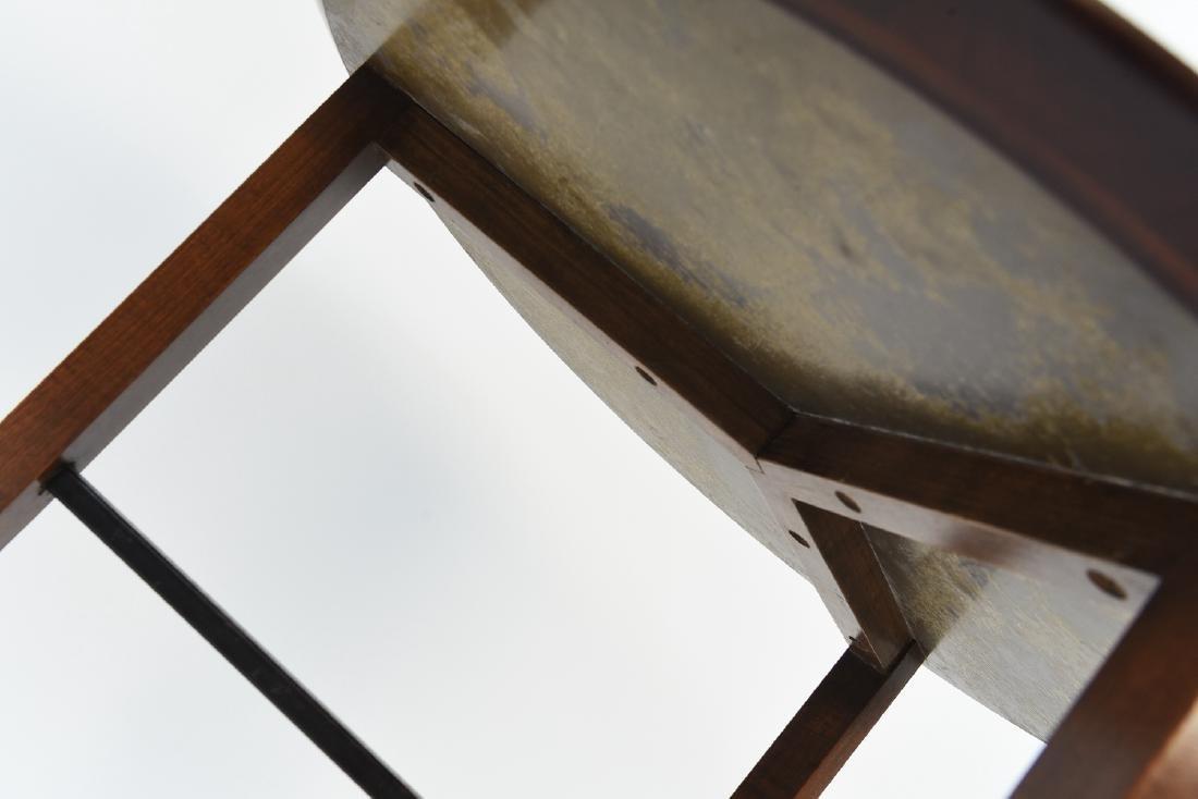 LEWIS BUTLER FOR KNOLL 3 LEG SIDE TABLE - 4