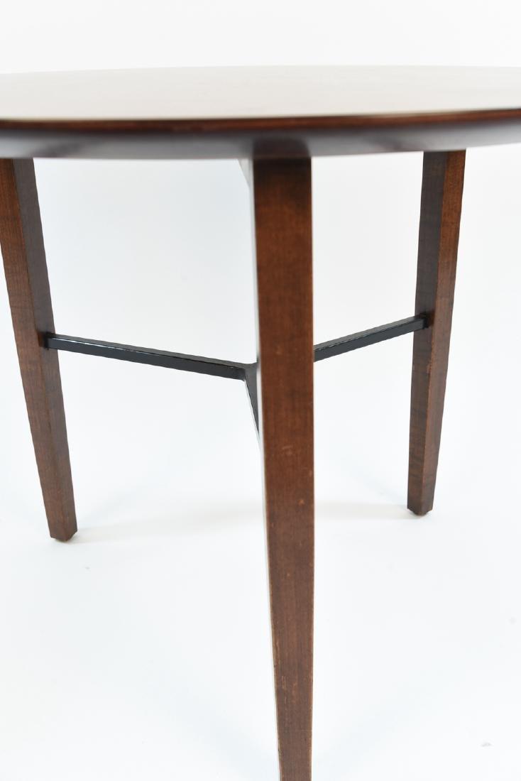 LEWIS BUTLER FOR KNOLL 3 LEG SIDE TABLE - 5