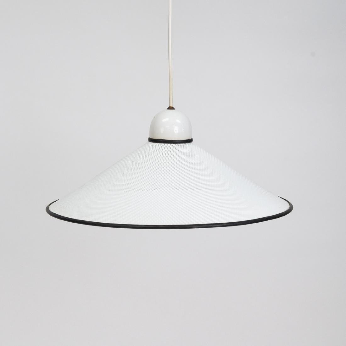 PERFORATED METAL HANGING PENDANT LAMP