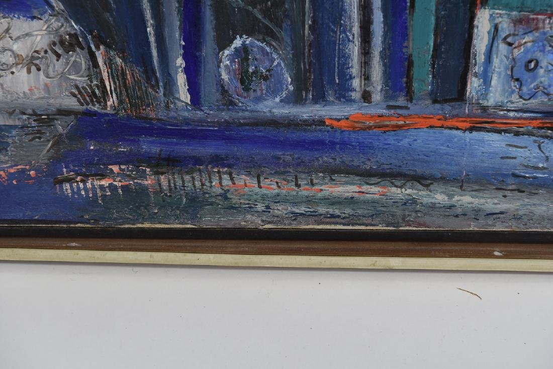 1963 ABSTRACT STILL LIFE O/C PAINTING - 9