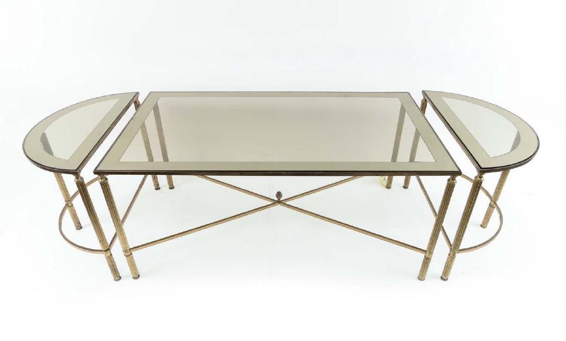MAISON JANSEN STYLE TABLE SUITE