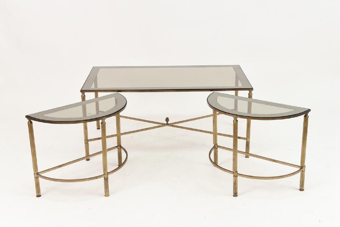 MAISON JANSEN STYLE TABLE SUITE - 2