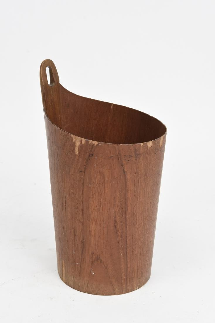 P. S. HEGGEN MID-CENTURY ONE ARM WASTE BASKET
