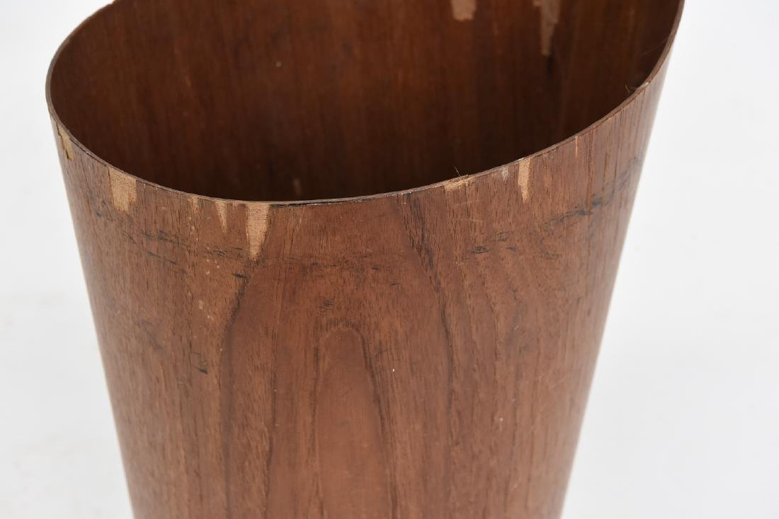 P. S. HEGGEN MID-CENTURY ONE ARM WASTE BASKET - 5