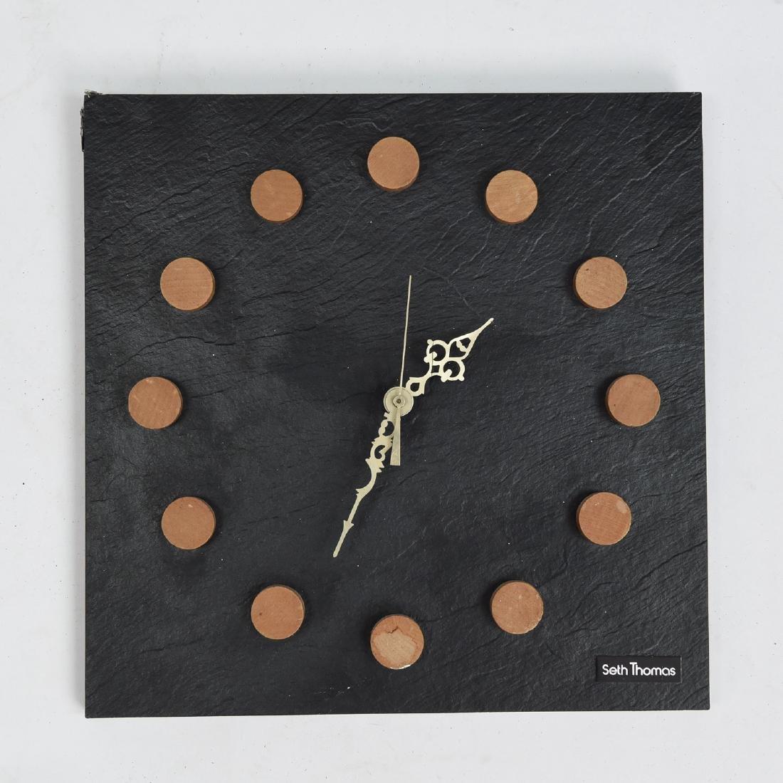 MID-CENTURY SETH THOMAS WALL CLOCK