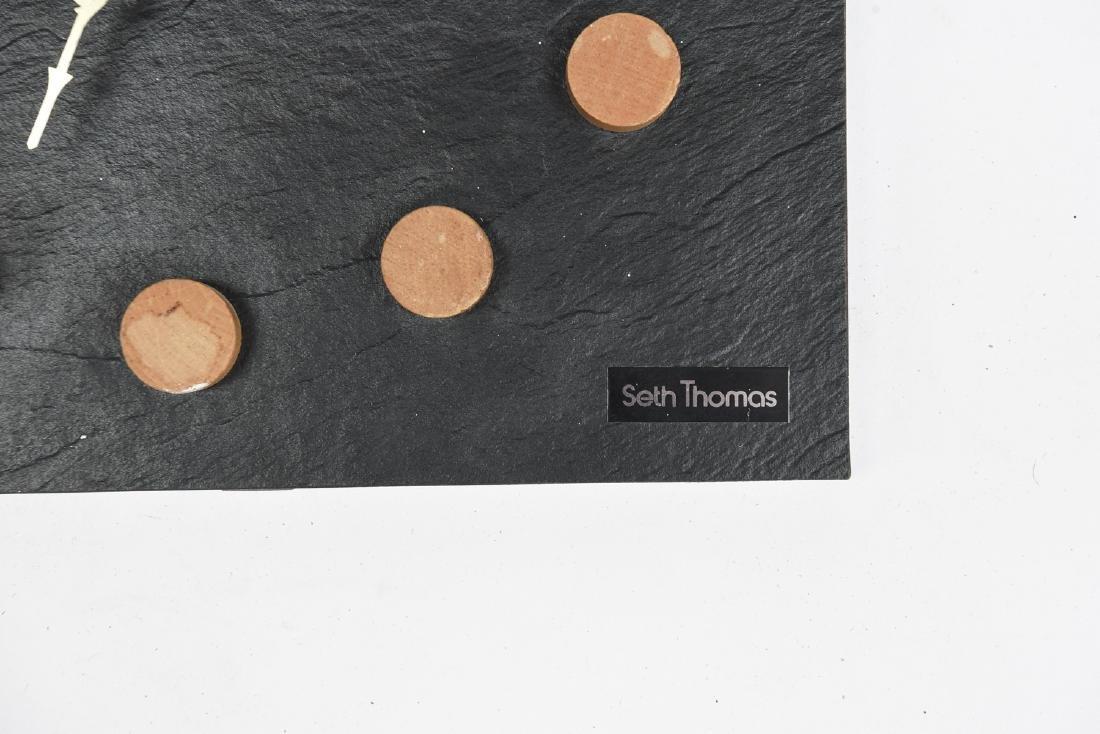 MID-CENTURY SETH THOMAS WALL CLOCK - 2