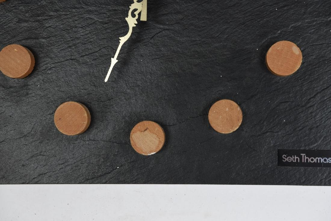 MID-CENTURY SETH THOMAS WALL CLOCK - 3