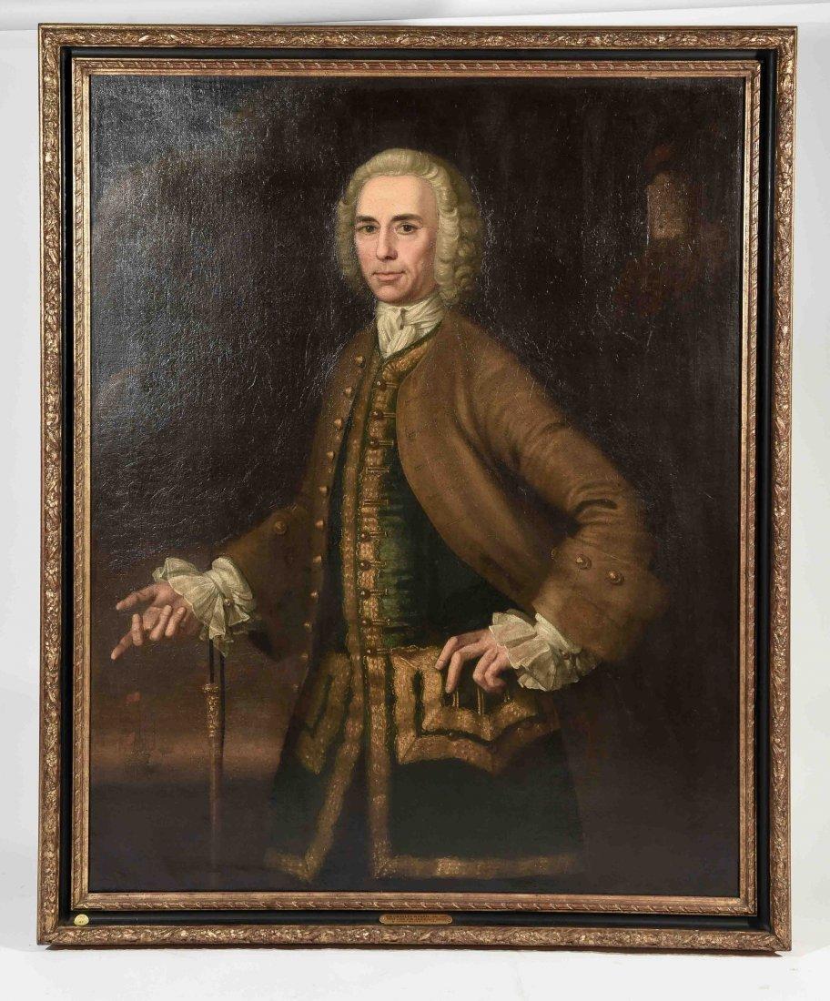 JOHN ELLYS (ENGLISH 1701-1757) O/C