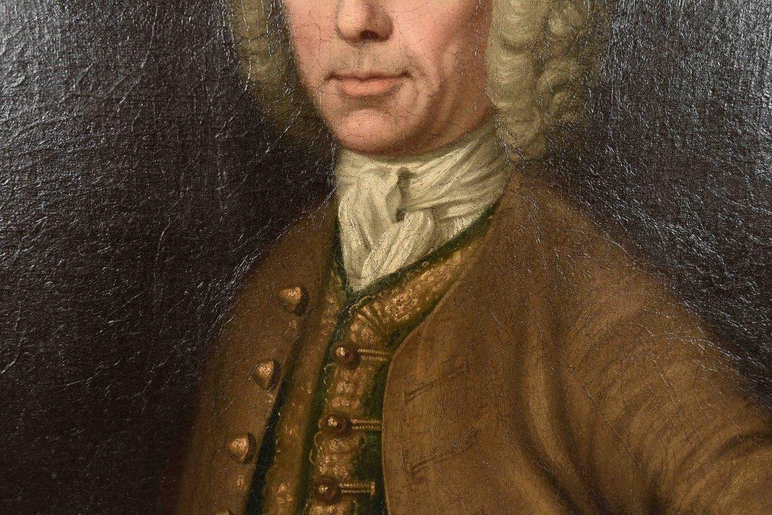 JOHN ELLYS (ENGLISH 1701-1757) O/C - 3