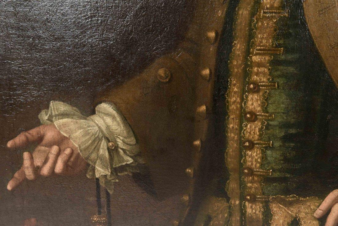 JOHN ELLYS (ENGLISH 1701-1757) O/C - 4