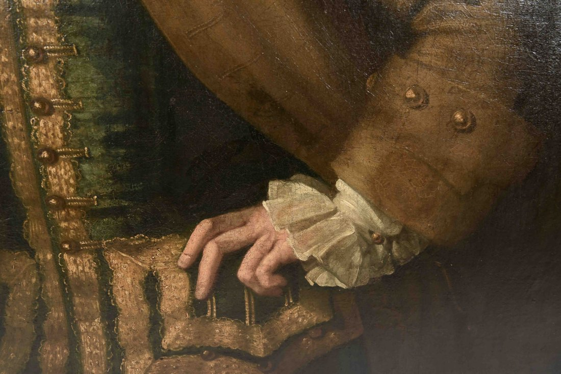 JOHN ELLYS (ENGLISH 1701-1757) O/C - 5