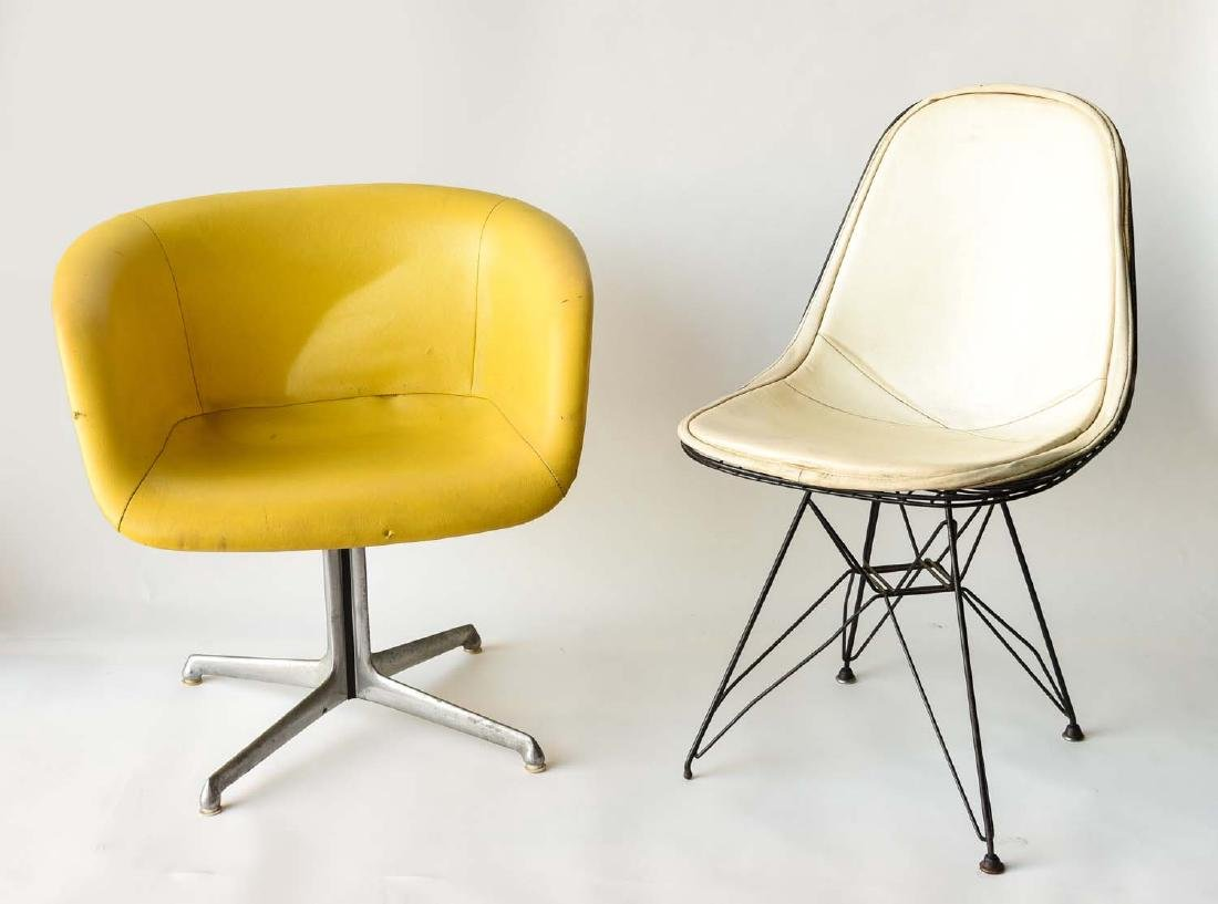 MID-CENTURY MODERN CHAIR GROUPING