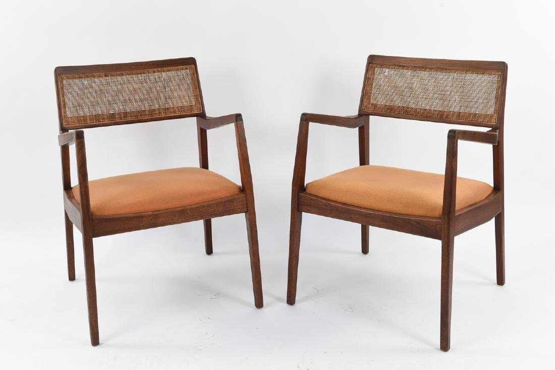 PAIR OF JENS RISOM C140 SIDE CHAIRS