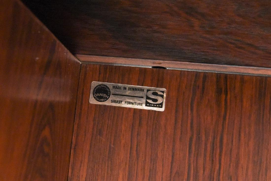 ARNE VODDER ROSEWOOD EXECUTIVE DESK FOR SIBAST - 10