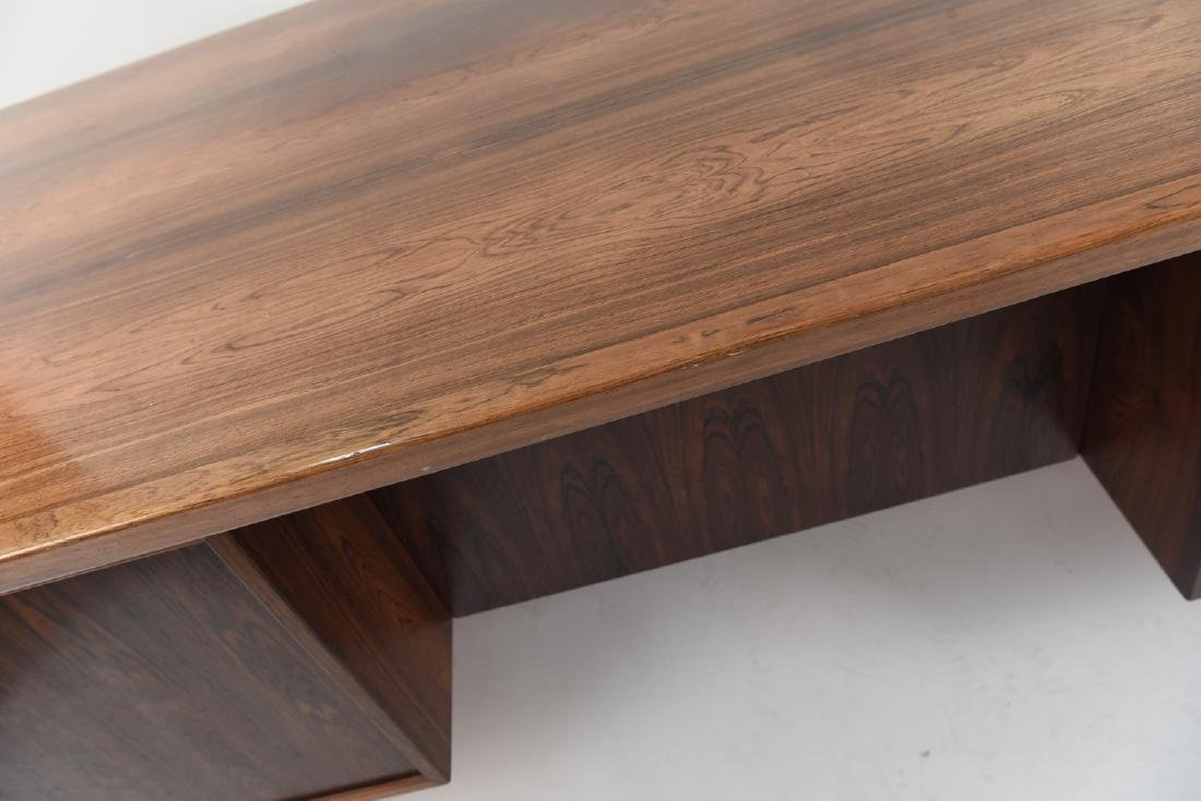 ARNE VODDER ROSEWOOD EXECUTIVE DESK FOR SIBAST - 6