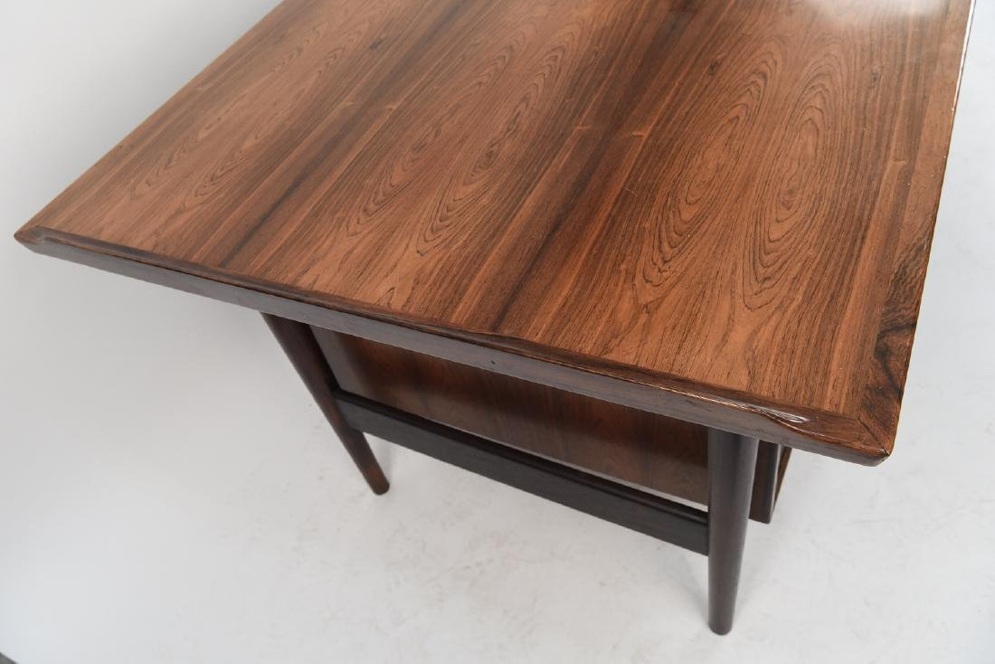 ARNE VODDER ROSEWOOD EXECUTIVE DESK FOR SIBAST - 8