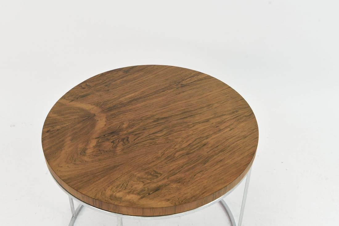 MILO BAUGHMAN ROSEWOOD SIDE TABLE - 2